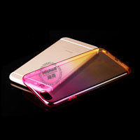 TPU Colorful Transparent Phone Case for iPhone 6