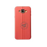 TPU Case with Double Line for Samsung A8