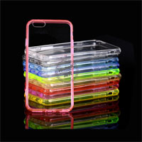 PMMA Transparent Case with TPU Frame for iPhone 6/6S