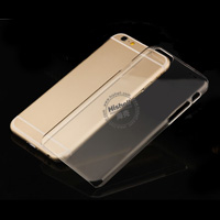 PC Hardness Anti-scratch Transparent Mobile Phone Case for iPhone 6 plus