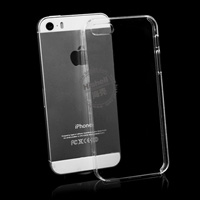 PC Hardness Anti-scratch Transparent Mobile Phone Case for iPhone 5
