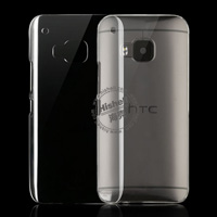 PC Hardness Anti-scratch Transparent Phone Case for HTC One M9