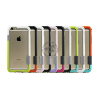 New arrvial TPU Double Color Bumper for iPhone 6
