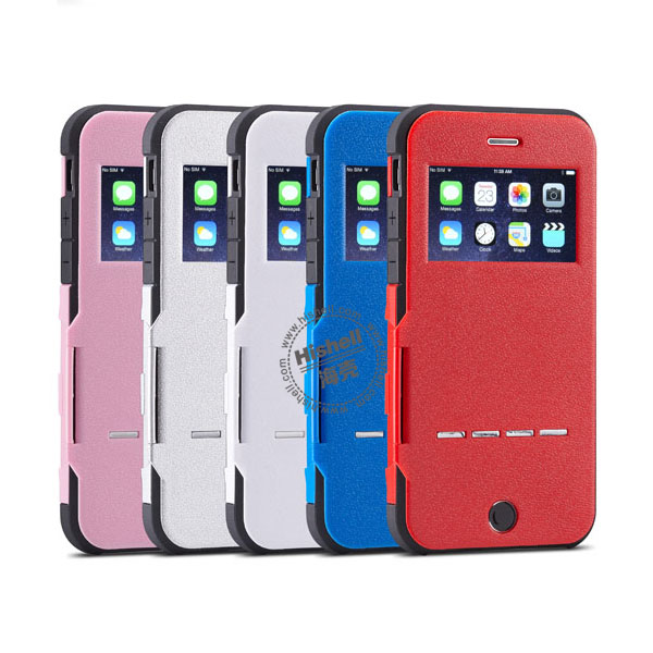 Fashionable Dormancy Smart Cover for iPhone 5