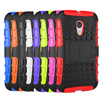 Spider Case With Stand Function for Moto G2