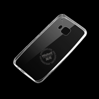 TPU Transparent Mobile Phone Case for HTC M9