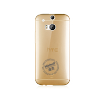 TPU Transparent Phone Case for HTC One M8