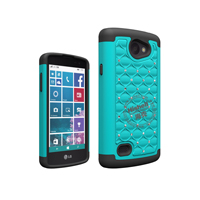 3 in 1 Diamond Combo Flip Cover for LG Lancet