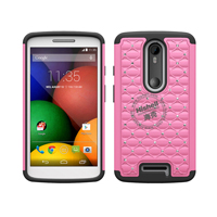 3 in 1 Diamond Combo Flip Cover for Motorola Moto X3