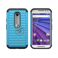 3 in 1 Diamond Combo Flip Cover for Motorola Moto G3