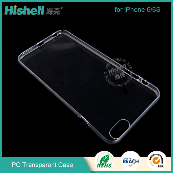 PC Transparent full side hard phone case for iPhone 6S