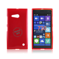 TPU Gloosy Mobile Phone Case for Microsoft Lumia 730