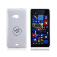 TPU Gloosy Mobile Phone Case for Microsoft Lumia 535