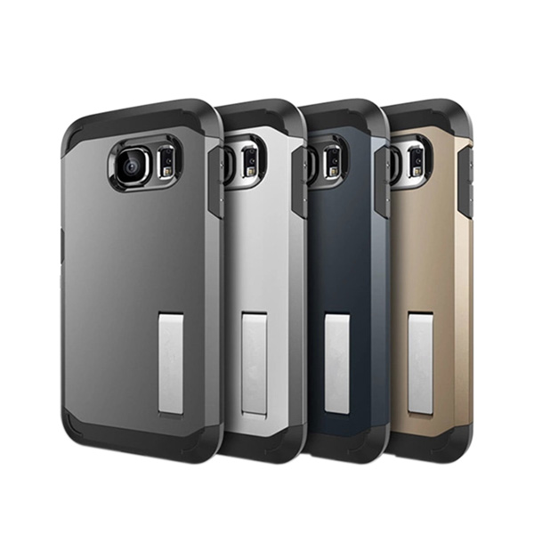 Armor case with holder for Samsung S6