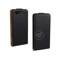 Up and Down PU leather flip cover for Sony Z1 Mini