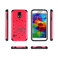 PC and TPU Shield Type Combo Mobile Phone Case for Samsung S5
