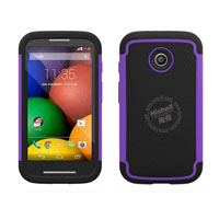 3 in 1 Football Grain Combo Mobile Phone Case for Motorola Moto E
