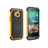 3 in 1 Football Grain Combo Mobile Phone Case for HTC One M8
