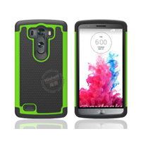 3 in 1 Football Grain Combo Mobile Phone Case for LG G3