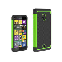 3 in 1 Football Grain Combo Mobile Phone Case for Nokia Lumia 1320