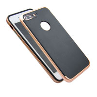 2017 New Design Electroplate With Carbon Fiber PC Case for iphone7