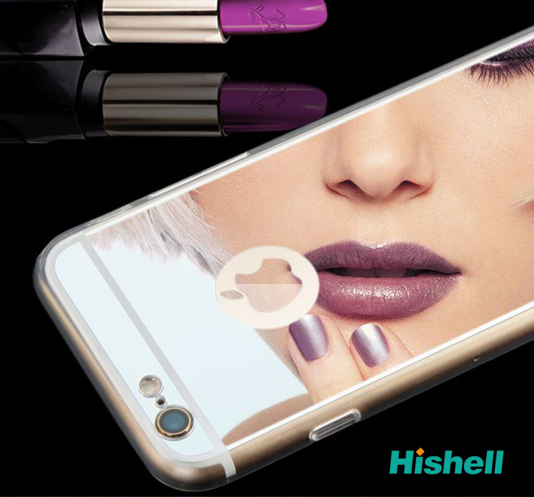 Luxury New Shining Phone Case Mirror Cases Back Cover For iPhone 6s
