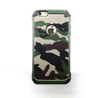Cell phone camouflage pc+tpu phone case for iphone 7