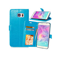 PU Leather Case with Side Lock for Samsung Note 5