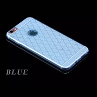 TPU Rhombic Line Case for iPhone 6/6s