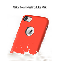 High Quality Mobile Phone Liquid Silicone Rubber Case for iPhone 7
