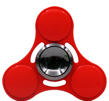 2017 Hot Toy Electroplating Hand Spinner