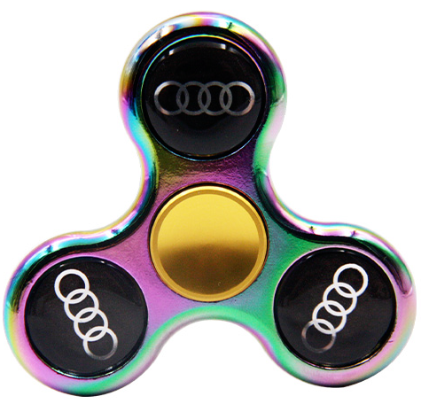 Hand Spinner With Auto Logos