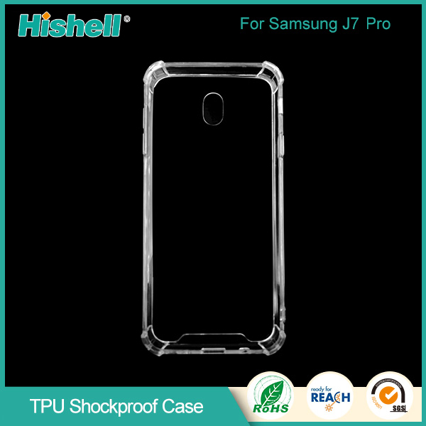 separation shoes 81cc3 44b1c Cell phone glass protector and phone case for Samsung J7pro case ...