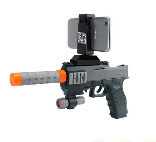 New design plastic bluetooth ar gun