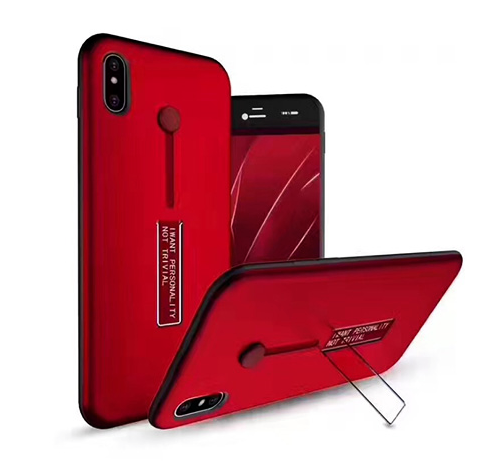 Mobile phone card slot armor case for iPhone X