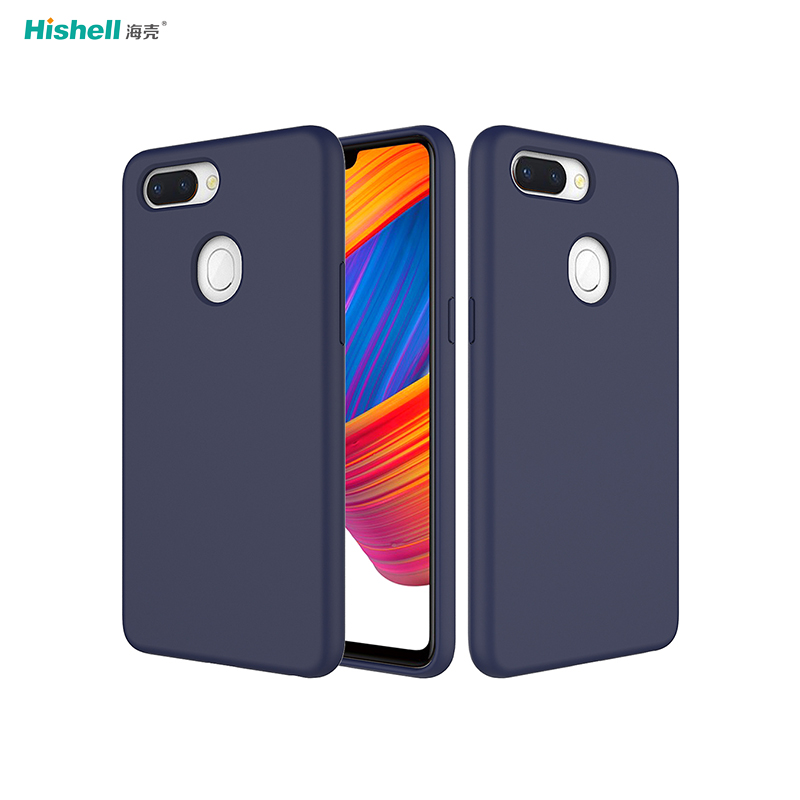 Shockproof Liquid Silicone Phone Case For R15