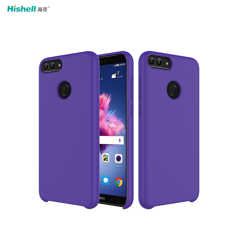 Liquid Silicone Mobile Phone Case For Huawei Nova Lite 2