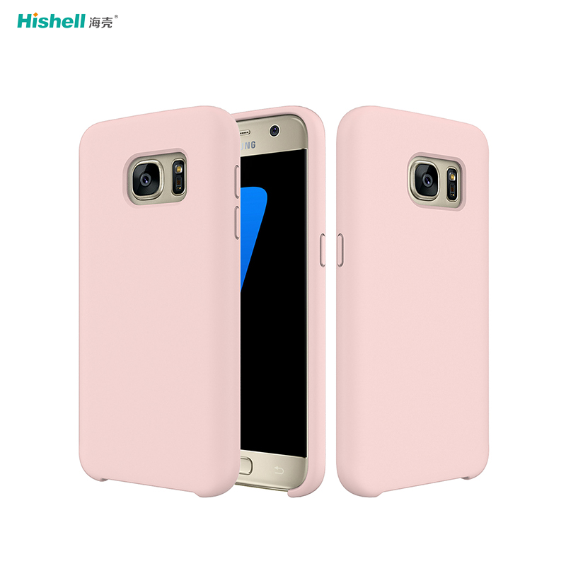 Liquid Silicone Shockproof Phone Case For Samsung Galaxy S7