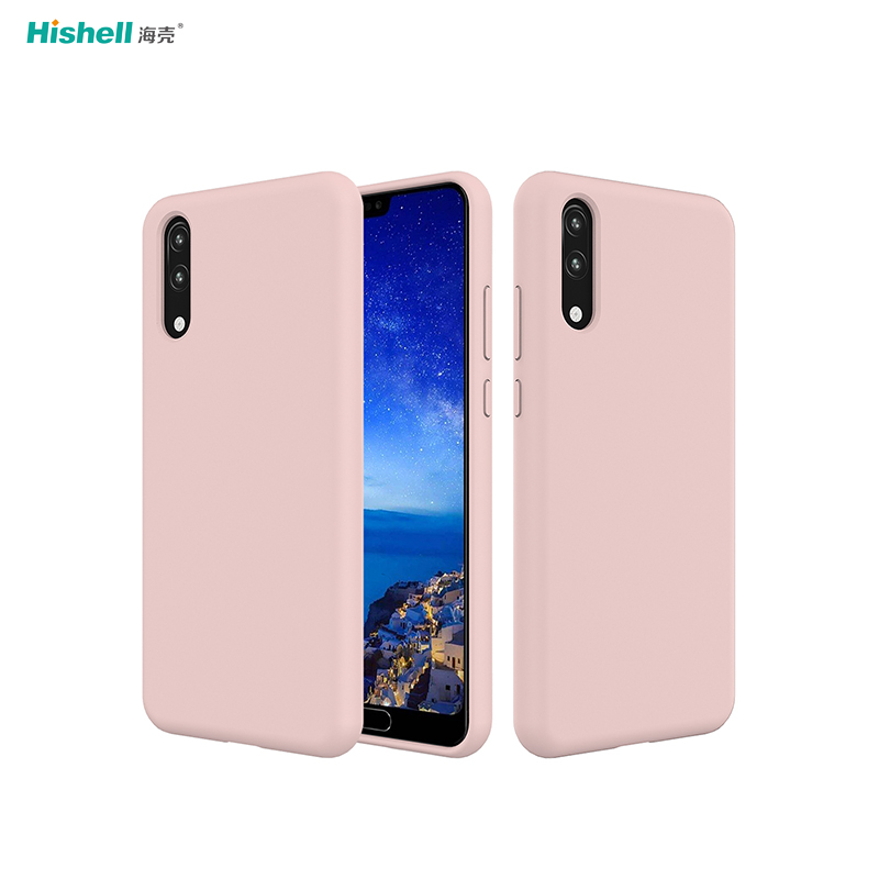 Liquid Silicone Shockproof Phone Cover For Huawei P20