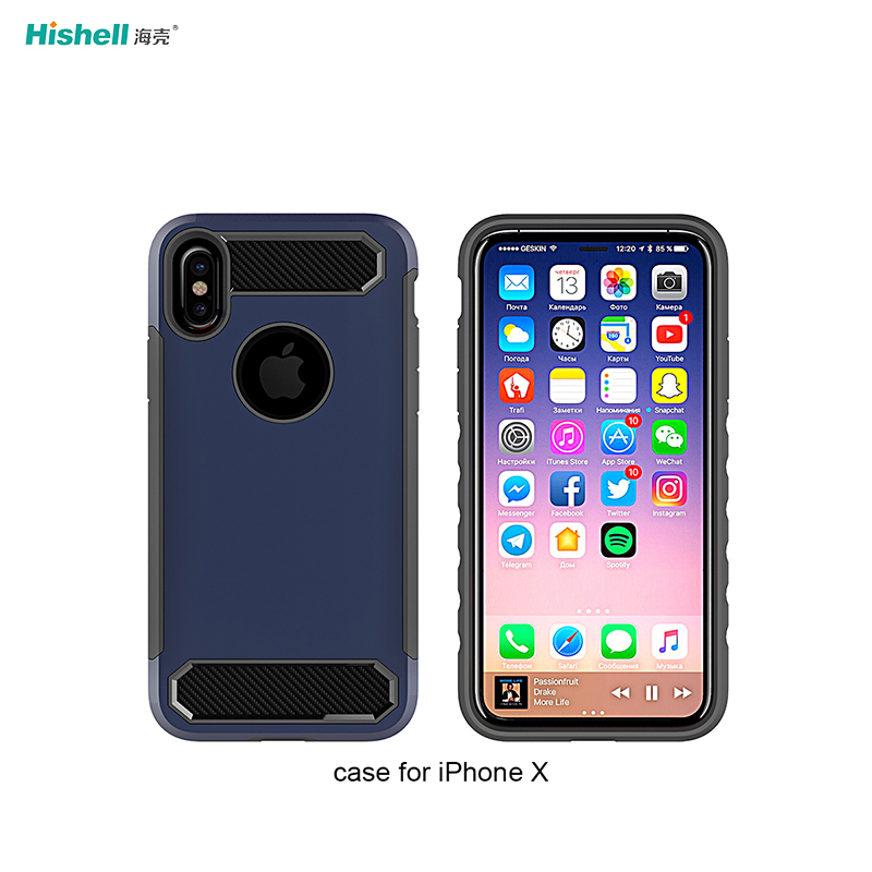 TPU PC 2 In 1 Amor Phone Case For iphone XR