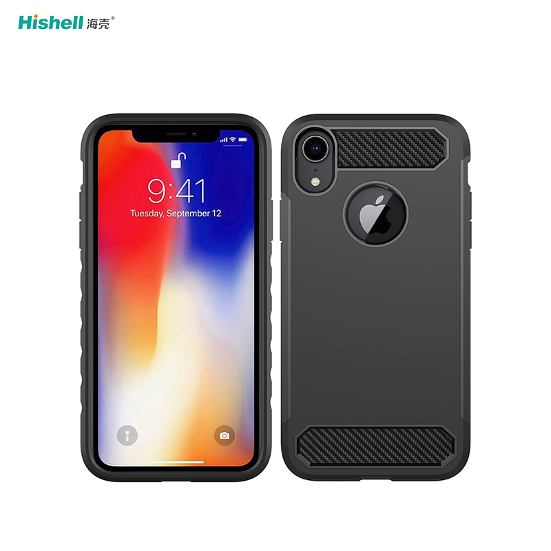 TPU PC 2 In 1 Shockproof Mobile Phone Case For Iphone XS Max