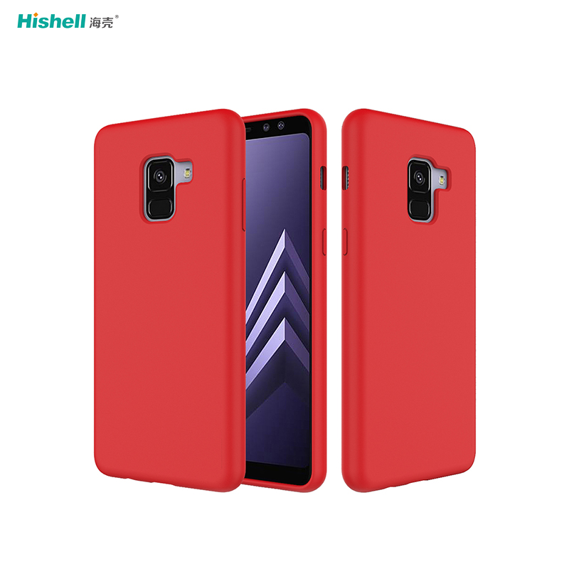 Liquid Silicone Rubber Phone Case For Samsung Galaxy A8+