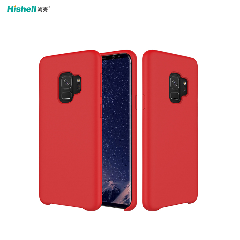 Liquid Silicone Shockproof Phone Cover For Samsung S9