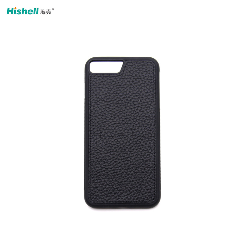 Real Leather Non Slip Mobile Phone Case For Iphone 7/8