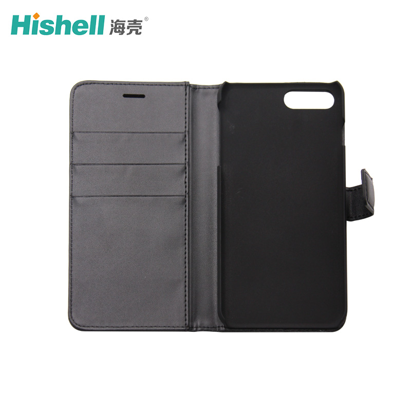 iPhone X PC Wallet Phone Case With Card Slot