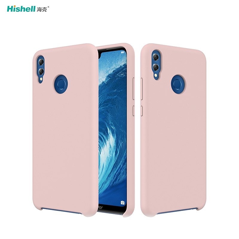 Liquid Silicone Shockproof Phone Case For Huawei Honor 8X