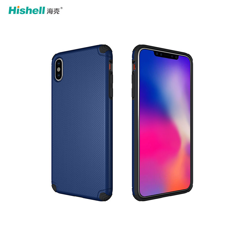 Non-slip Armor Case TPU With PC Phone Case For IPhone XS Max