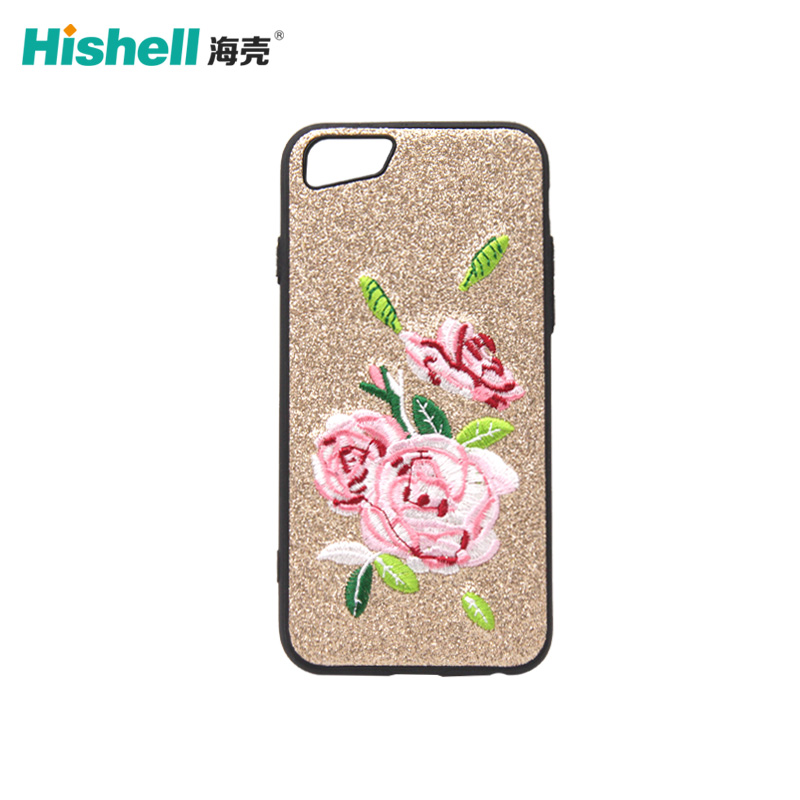 iPhone Embroidery Phone Case For iPhone 7