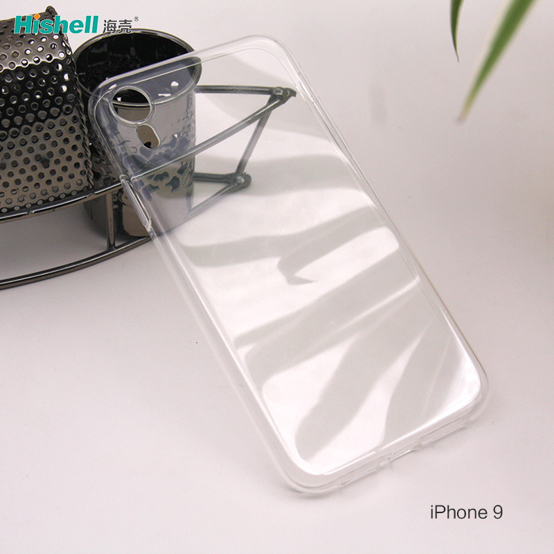TPU Soft Transparent mobile phone case for IPhone 9 and 9 Plus