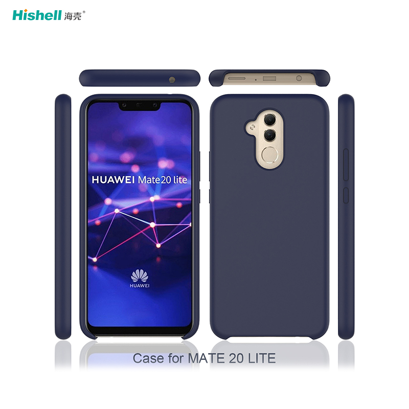 Shockproof Original Soft Liquid Silicone Phone Case for Huawei Mate 20